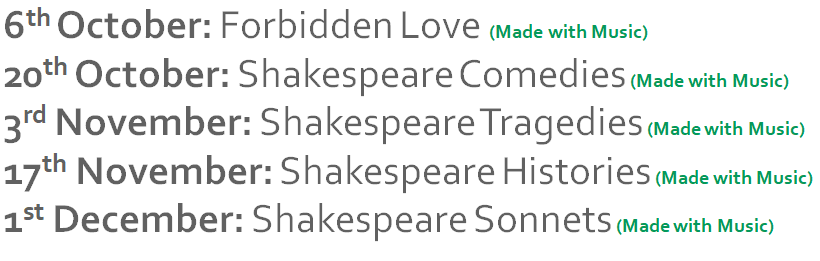 3. My upcoming sessions are available on Eventbrite. Next up is 'Forbidden Love' - I'll be looking at lots of famous thwarted lovers in literature, but coming at them from some new angles! https://t.co/NUUEhXcMpI https://t.co/v3iFZZdyCy