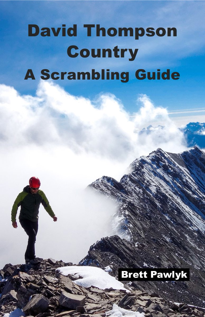 Brett Pawlyk has written a book about Scrambles in David Thompson Country and has graciously shared an excerpt that we have posted on our website at  https://t.co/Z3bdbLniGE  #scrambles #DTCountry #ExploreAlberta #mountainclimbing #hikealberta https://t.co/prySnVaxgm