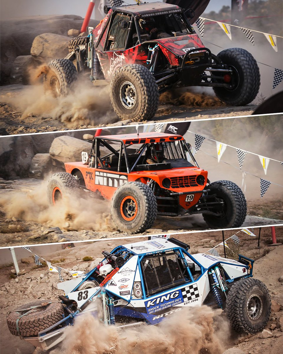 Congratulations to JP Gomez, Paul Horschel, and Raul Gomez for sweeping the podium and the rest of #TeamNitto for finishing strong at the Ultra4 Racing 2020 Lasernut Area BFE Beatdownlast weekend! #TrailGrappler l @gomez_brothers_racing https://t.co/8tr9I15lBa