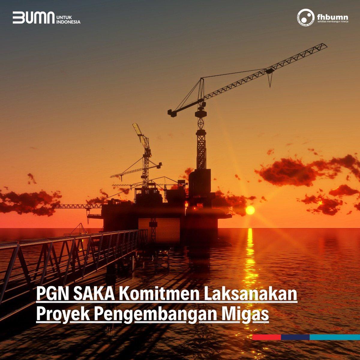 PGN SAKA, anak usaha @Gas_Negara di bidang hulu minyak dan gas bumi, terus berkomitmen menjalankan 2 proyek pengembangan lapangan baru, yaitu Lapangan Sidayu dan Lapangan West Pangkah.  #PGN #BUMNuntukIndonesia #FHBUMN https://t.co/sXQ6bDWOu6