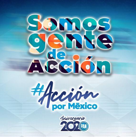🥳 En @AccionNacional estamos de fiesta, celebramos 81 años de lucha por la democracia. Sigamos construyendo el #México que queremos para todas las generaciones, somos #AcciónPorMexico 💙🇲🇽 https://t.co/5HsT4KgOFA