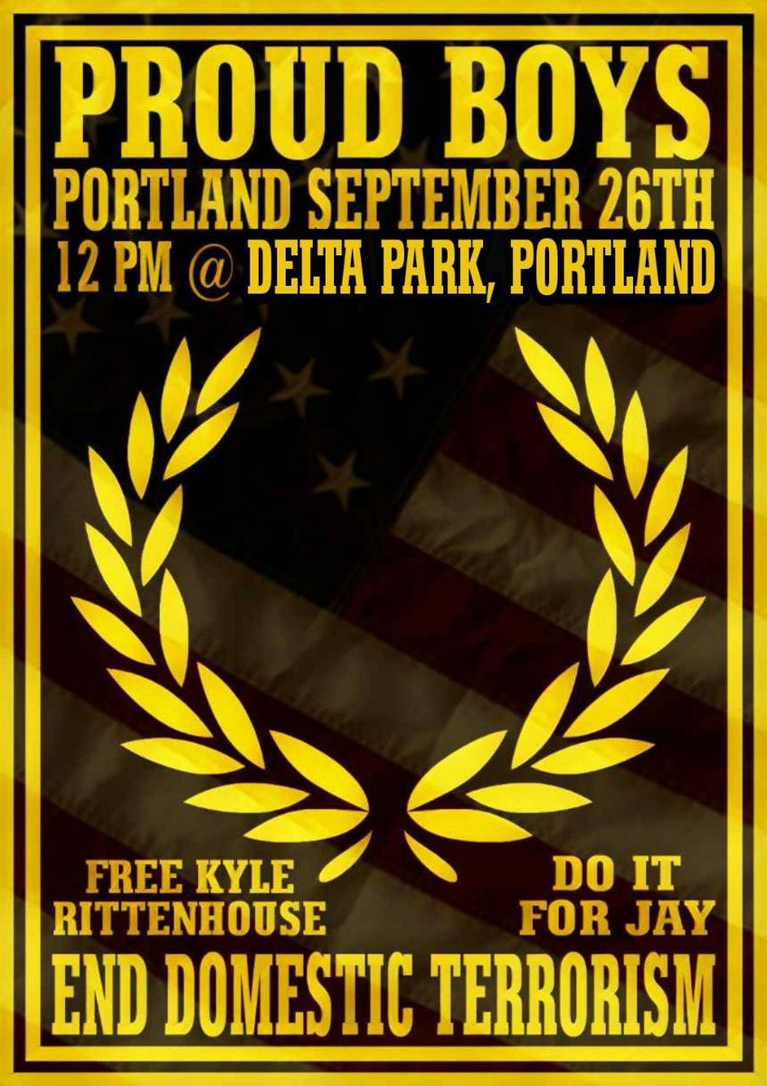 The Proud Boys announced they are doing a rally in a park in Portland on Saturday. In turn, all the regional antifa groups are promising to violently oppose them. Last month, an antifa shooter killed a conservative activist in downtown. #PortlandRiots https://t.co/bFt28vib0b https://t.co/u8dEdBPoVt