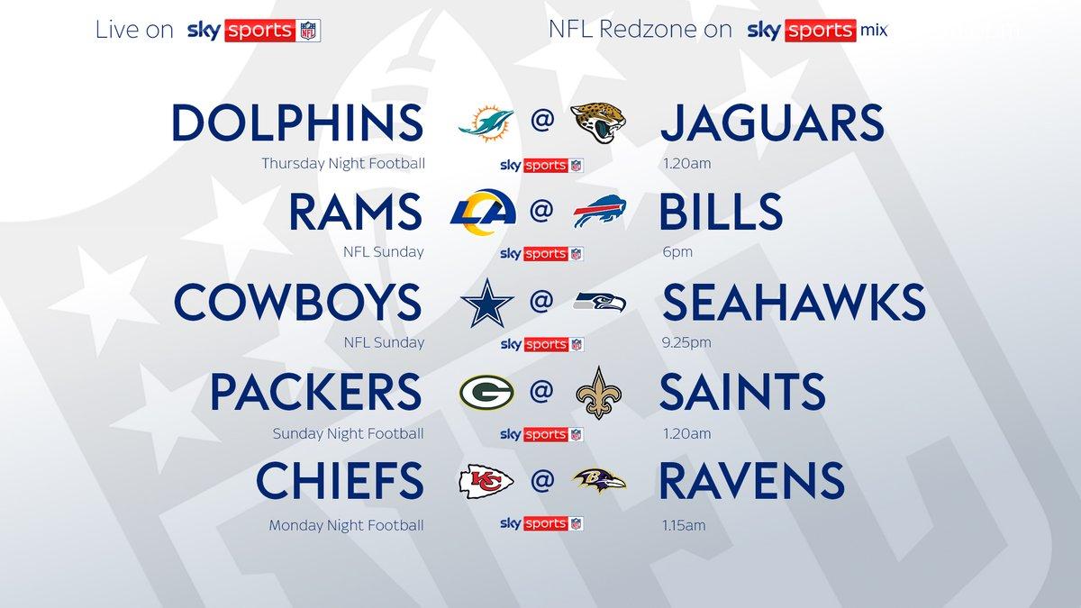 #NFL LIVE ON SKY - WEEK 3⃣ https://t.co/JHQDUgs9Cu