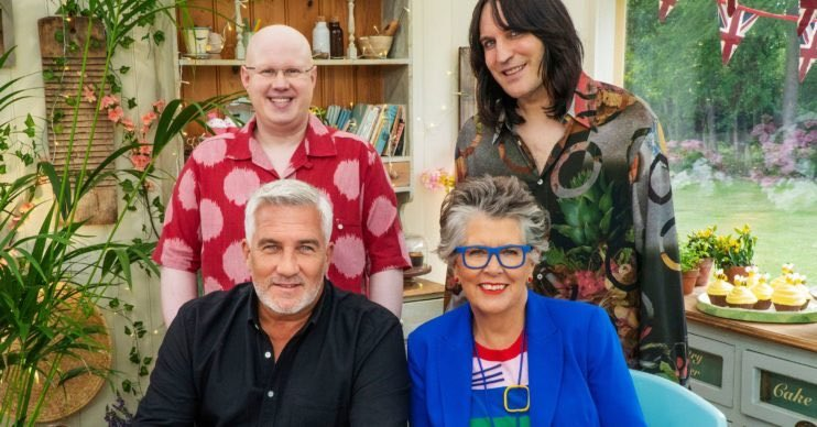 The Great British Bake Off has just started and I'm completely hooked 😊#GreatBritishBakeOff @BritishBakeOff @Channel4 https://t.co/SAP1M0w9qv
