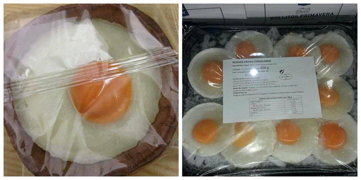 """Miguel A. Lurueña on Twitter: """"El huevo frito congelado, desarrollado por  el chef español J. Yzuel, puede parecer una frivolidad pero permite ofrecer huevos  fritos de forma rápida y segura en restaurantes"""