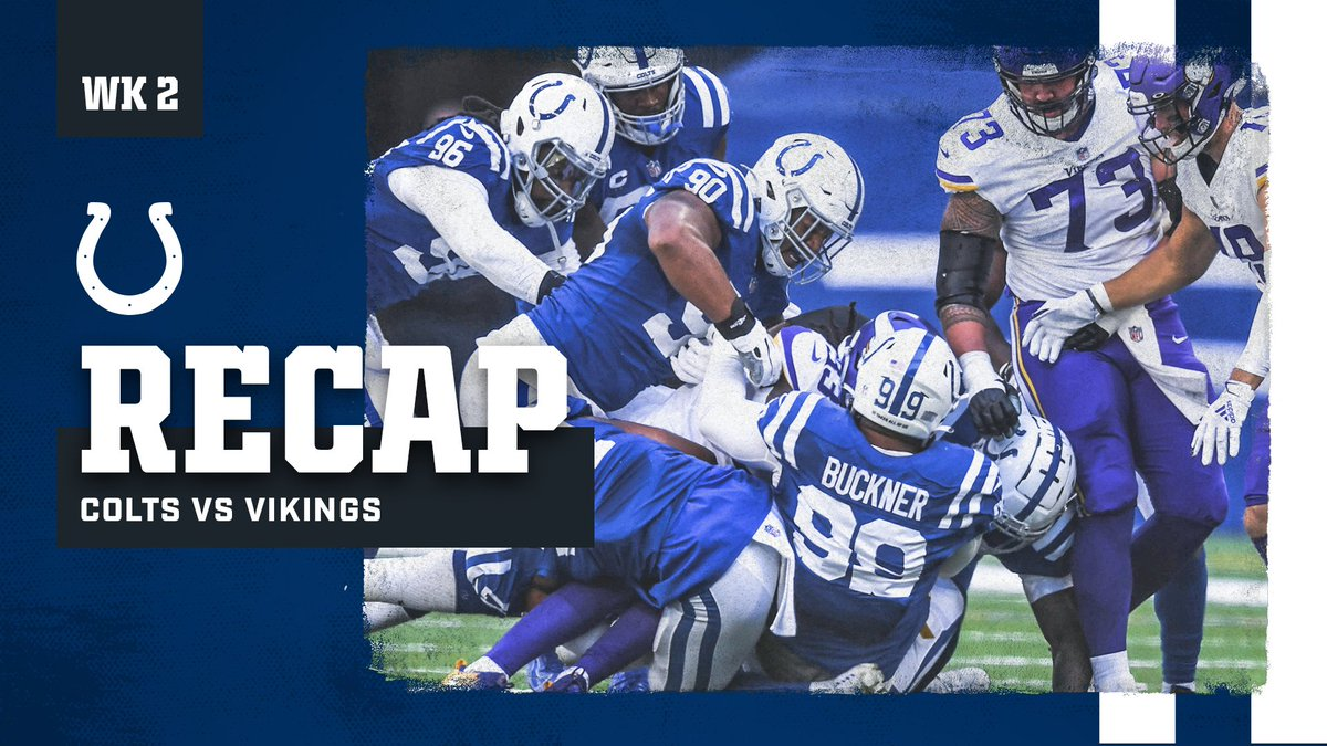 A home opener unlike any other. #MINvsIND Game Recap: