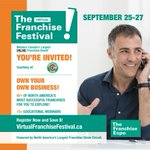 SEPTEMBER 25 - 27, 2020 This weekend, Freshslice will be participating in the Virtual Franchise Festival! This is the perfect way to explore the possibility of becoming your own boss!  Learn how Freshslice Pizza can be your great new venture!  Register NOW https://t.co/Ow3n7IoGIn