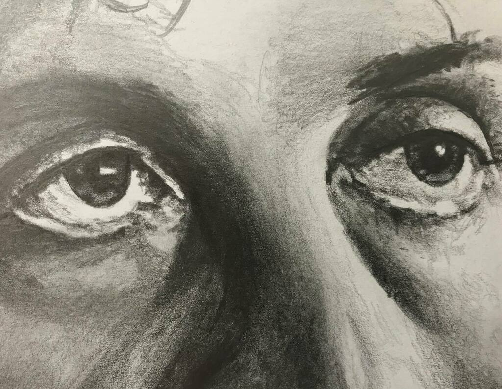 Guess who?!   New piece underway... 😁  #guesswho #intenseeyes #pencil #graphite #drawing #sketch #pencildrawing #pencilsketch #pencilart #pencilartist #graphitedrawing #graphitesketch #graphiteart #graphiteartist #artrealism #realism #photorealism #h… https://t.co/tAX7iHLKBt https://t.co/w1J973a4N0