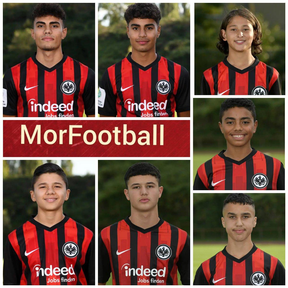 Se viene Marruecos a futuro....14 chicos con raíces marroquíes jugarán esta temporada en las divisiones inferiores del Eintracht. #SGE