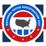 Image for the Tweet beginning: Are you registered to vote? Help