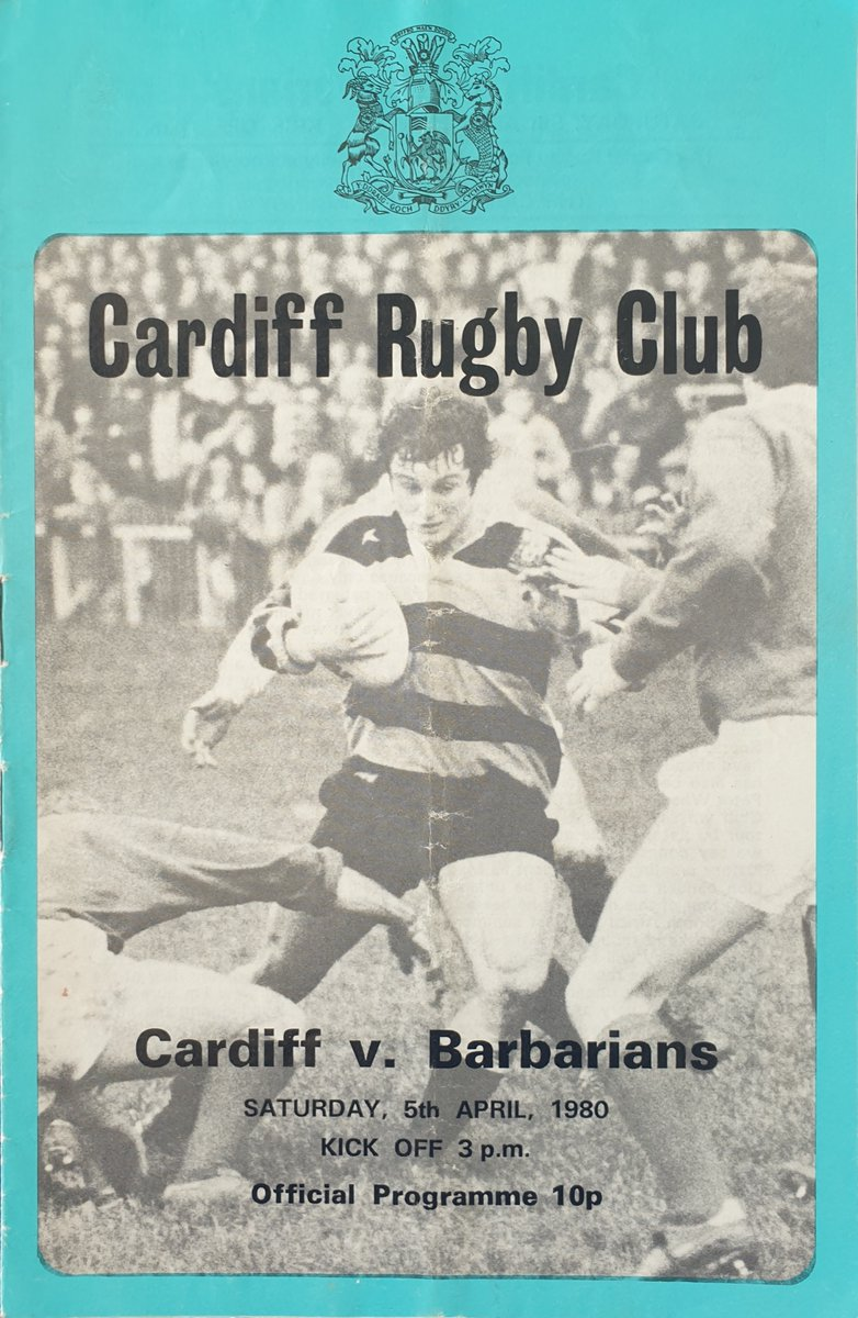 Happy 144th birthday to @Cardiff_RFC who formed #OnThisDay in 1876 #Rugby #cardiff #rugbyprogrammes #rugbymemorabilia #armspark https://t.co/p1hvUk7yDw https://t.co/l1trUZIr5r