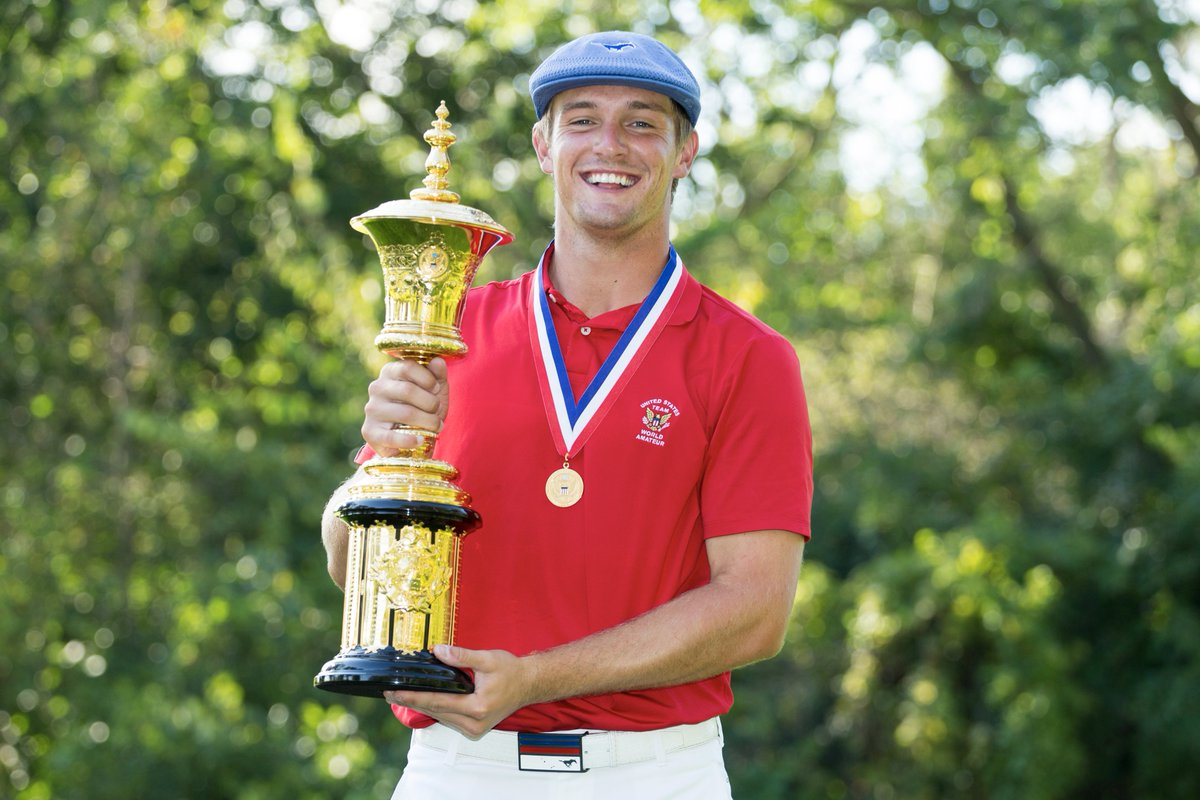 🏆 and 🏅  That's what @b_dechambeau does. https://t.co/2TZimjS1AW