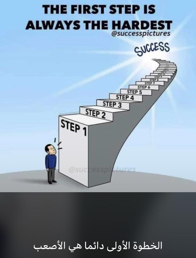 #stepone is the #biggest #one of the #roadmap to the #success https://t.co/ZwHvfpCFGz