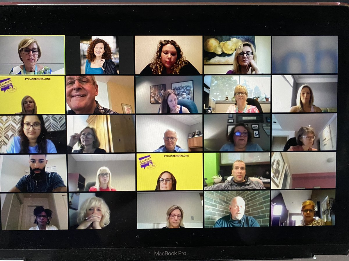 test Twitter Media - Hello everyone!!  Thank you.   We appreciate all of you attending our AGM now - virtually  Our work is needed now more than ever - and as our CEO @ClaudiadenBoer2 said - hearing today from those with lived experience brings home the value of mental health support   #YQG https://t.co/RK4uABPMng