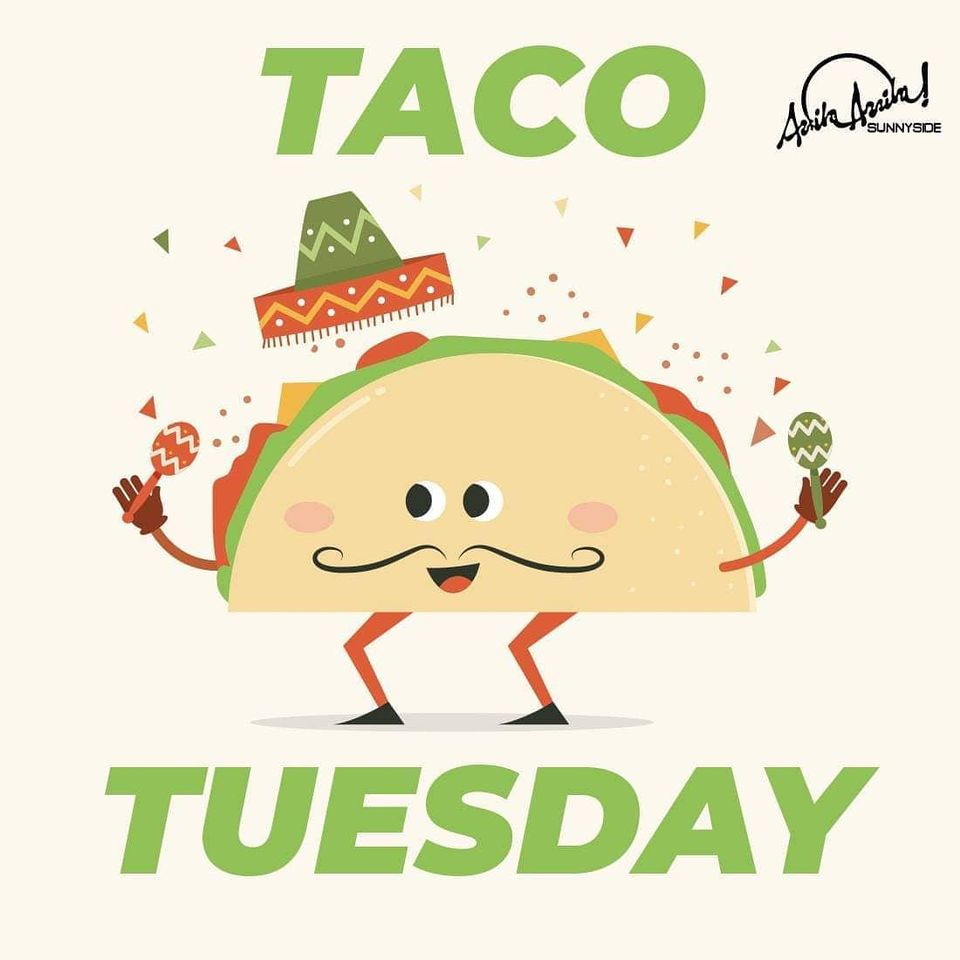 No better day than Taco Tuesday to live the taco life! See you at Arriba Arriba!🤩🌮 . . #tacotuesday #nyctacos #nycfoodie #instafood https://t.co/0J2xNtVT2g