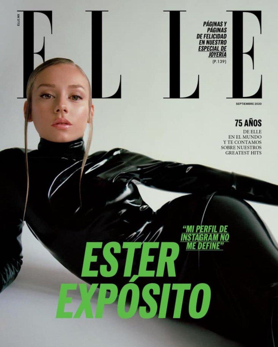 """""""Mi perfil de Instagram no me define"""" -  #EsterExpósito by ELLE México 🖤 https://t.co/RxpwUmdTvy"""