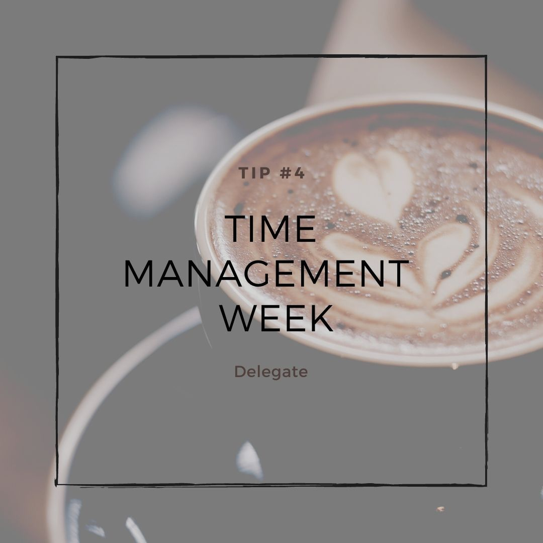 Time management tip #4.  Delegate.  Teach others what they can do to help you.  It may be costly initially, but it will pay off down the road in spades!  #delegate #time  #management https://t.co/imehAM1Pnf