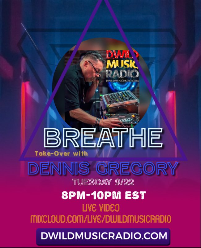 @ddjdennis1 Breathe Take Over tonight 8pm EST https://t.co/cFYSxbIAVB #mixcloudLIVE #mixcloud #live #video #chat #music #housemusic #dance #party #tuesdayvibes #legend #radio #dwildmusicradio #househeads #clubclassics #dj #mixs https://t.co/kL84khdxXI
