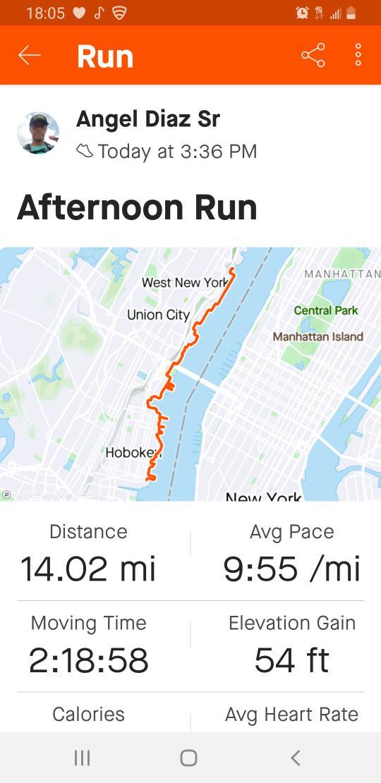 Today's run. #UltraMarathon #Training #50Miles #RunHappy #RunningIsLife https://t.co/oRU3PNgWed