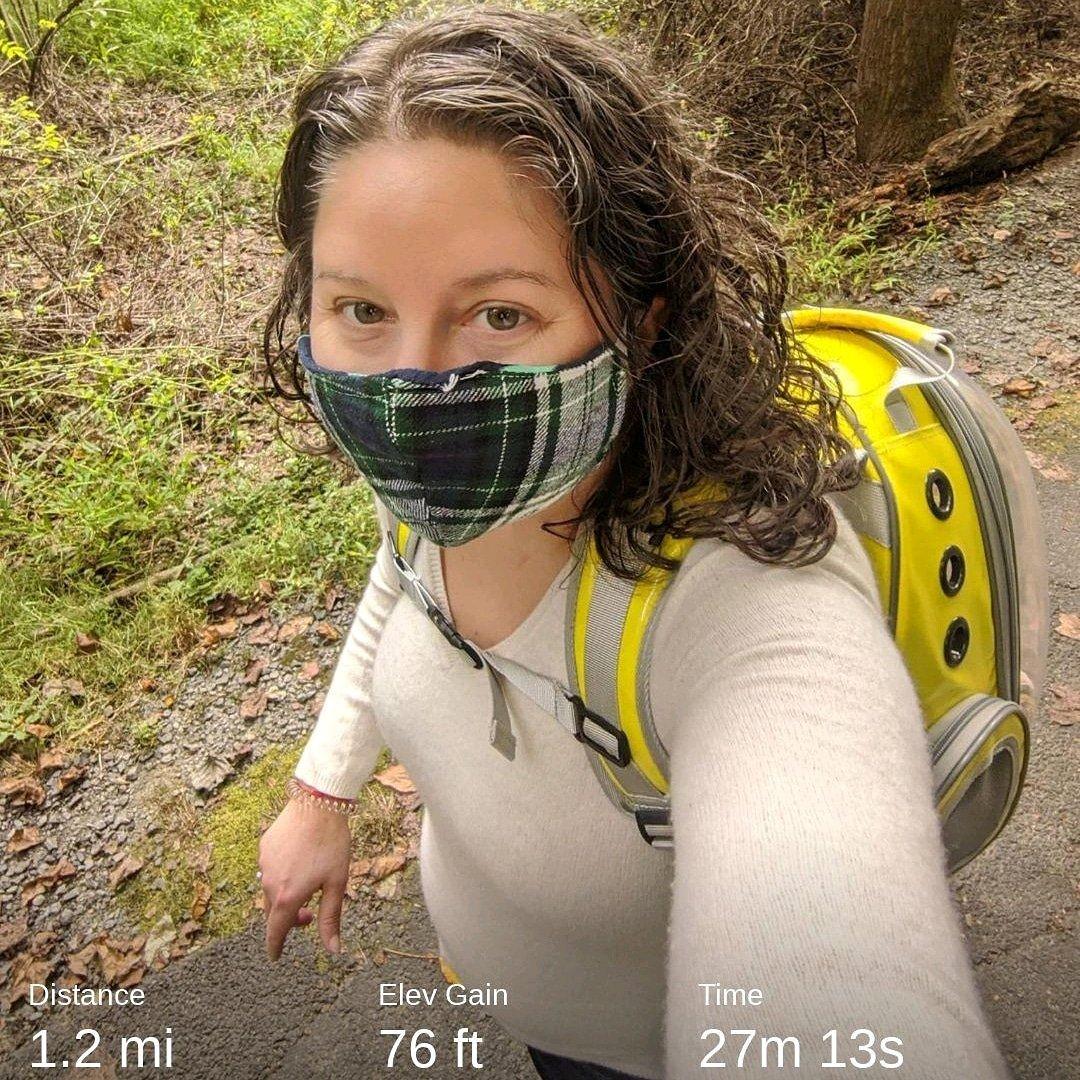 Nature walk with Boots 🐈🌿 to help me unwind after work. #adventurecats #naturebreak #cardio #beautifulday https://t.co/S9kUNbaSPJ
