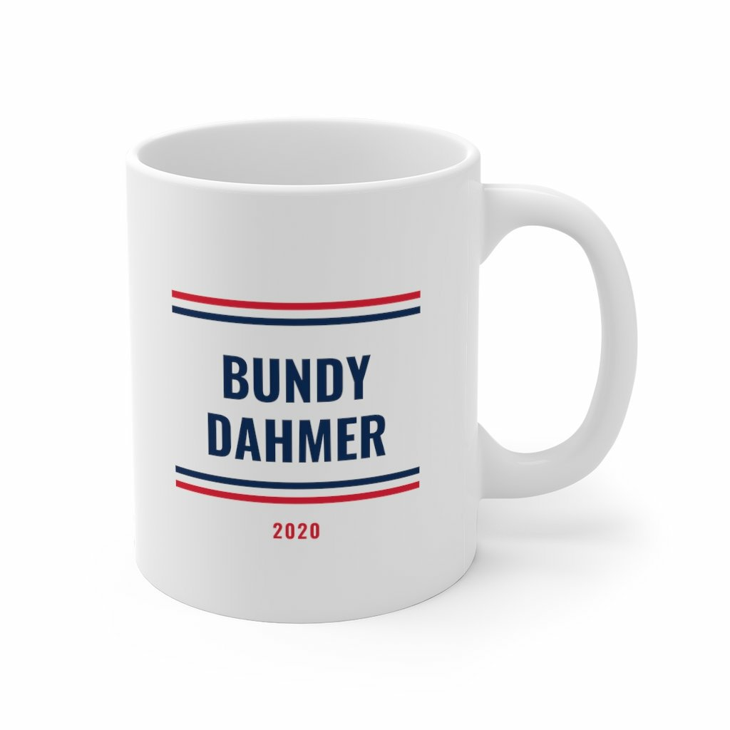 Make your vote count! Available now in our Etsy store  Link in bio  #tedbundy #jeffreydahmer  #election2020 #politics #politicalsatire #voting #vote #voter  https://t.co/idQisIovpy https://t.co/e5k110HURj