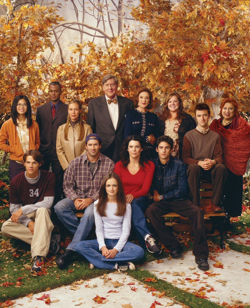 Grab your coffee, and get ready to rewatch Gilmore Girls again! 🍂☕️🎃
