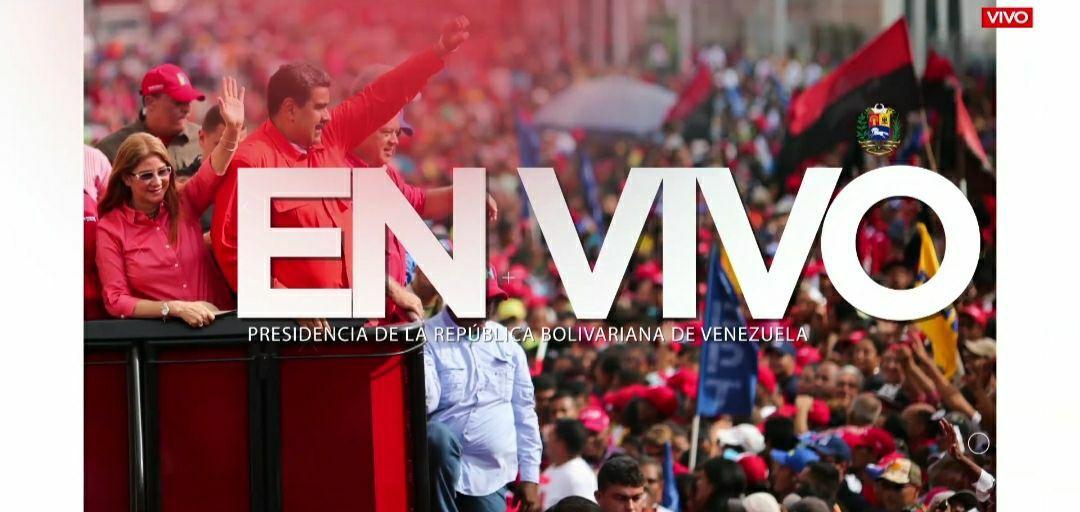 #AsiLoDijo || Pdte. @NicolasMaduro: Asumo la responsabilidad de decirle al pueblo para que nos preparemos y demos el combate por la paz y la estabilidad interna de Venezuela. https://t.co/7ANxbC9AlC