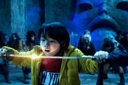 【2021年公開】令和版・映画『妖怪大戦争』、寺田心が主演務める今作でアクションに初挑戦した寺田は「いつも1人でする空想戦いごっこが生かされたように思います」と語った。