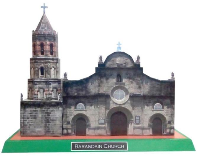 The Barasoain Church Paper Model - by NCCA Philippines  #ペーパークラフト #papercraft #papermodel #papermau #bastelbogen #papiermodell #papírovýmodel #architecture  #diorama #Wargaming #rpg  https://t.co/ZSRksPHHLv https://t.co/fszP6HrxPY