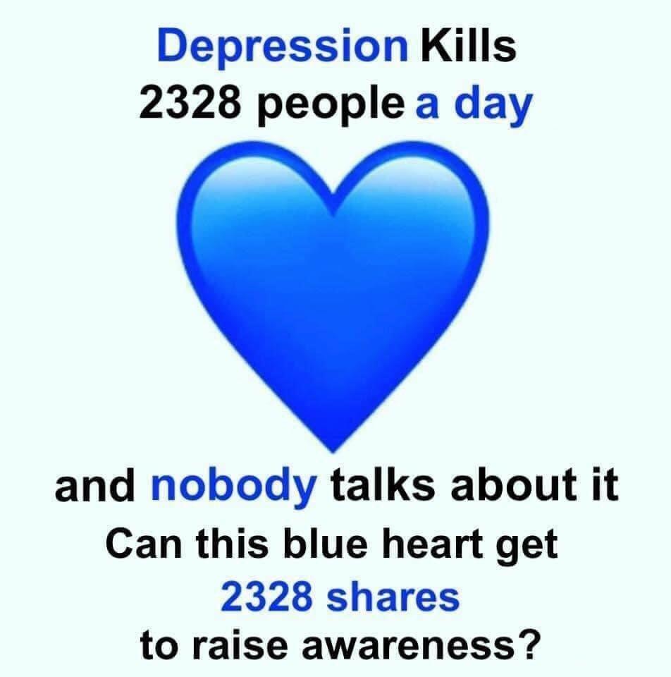 💙 #depressionawareness https://t.co/FNsHGBpzkF
