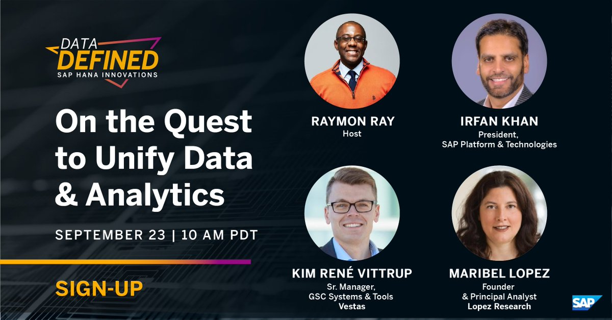 The #futureofwork requires a better #data strategy. Let's chat about this tomorrow at 10 am PST #datadefined Please join us! #dataanalytics #digitaltransformation https://t.co/Nv0syPd59S https://t.co/CEVgSNcjp6