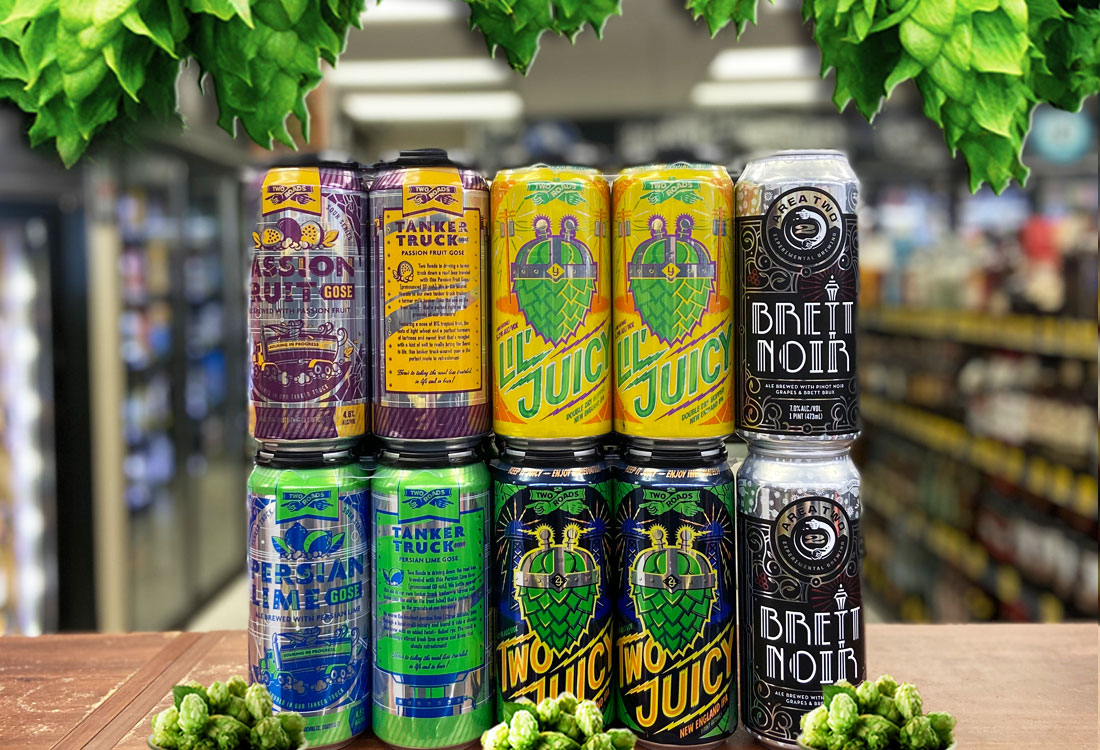 Today's drop highlights from Two Roads Brewing, we've got: . - Two Juicy #neipa - Lil' Juicy DDH NE #IPA  - Brett Noir Brett  brux - Tanker Truck Passion fruit #gose - Tanker Truck Persian Lime Gose . . Lots more new beers in stock.... . . #freshbeer #beerlovers #independentcraft https://t.co/H2eUOs6rKH