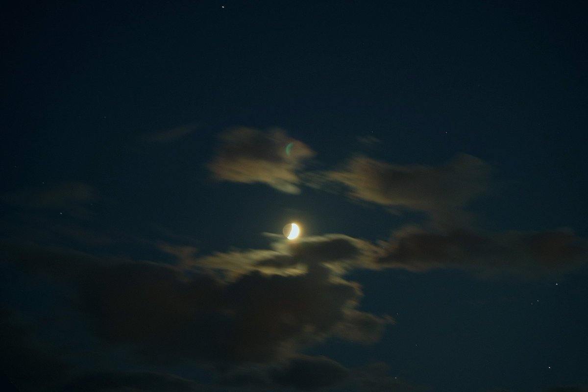 Luna acunada por las nubes... Crescent Moon  .  #buenasnoches   #pic #foto #luna #pics #moonlight #sky #cielo #goodnight #lunadeseptiembre #cloudscaoe #moon #buonanotte #bonsoir #lunar #fotografia #photography #artphoto #photographie  #photo#night #noche #lunacreciente #space https://t.co/dPBcEvHmf2