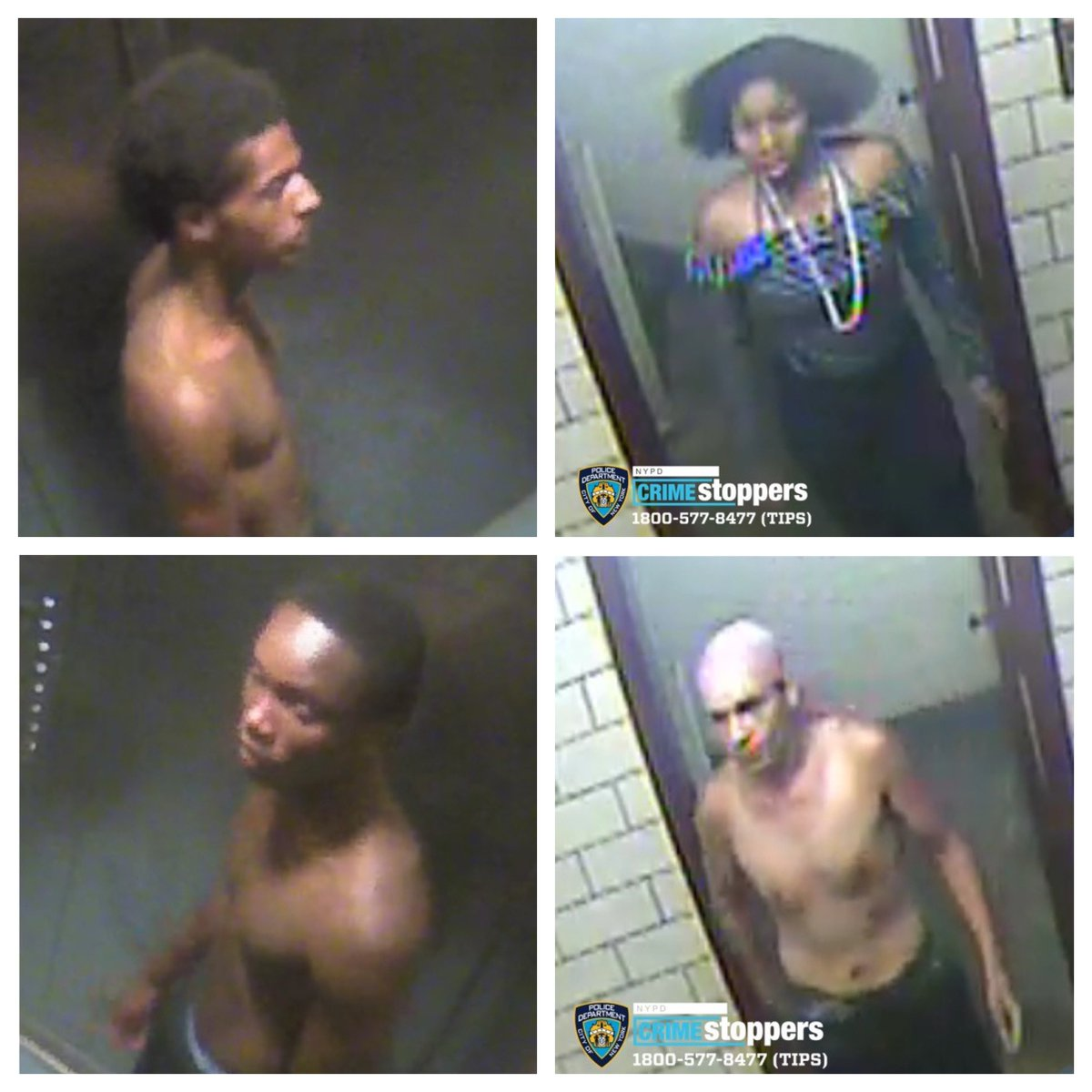 On Tuesday September 8th, 2020 inside of 2140 Seward Avenue the four individuals below attacked a 17 yr. old male, stabbing him numerous times in the torso then removing his currency from his person. If you have any information or recognize anyone below please ☎️ @NYPDTips https://t.co/IVKeFLvPX8