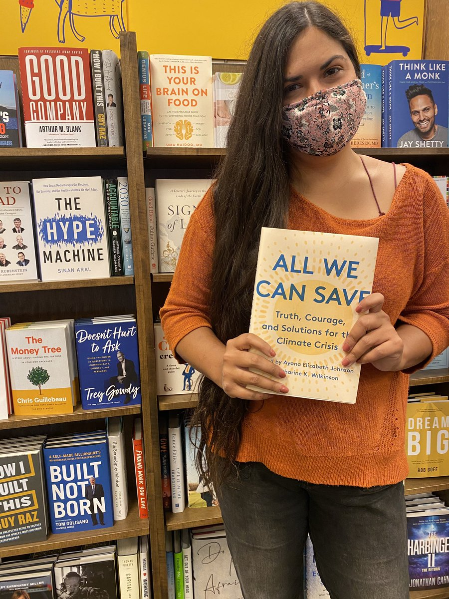 The future is female climate impact. Just bought @allwecansave because it's focused on implementation of solutions - driven by women- happening right now. #feminism #ClimateAction