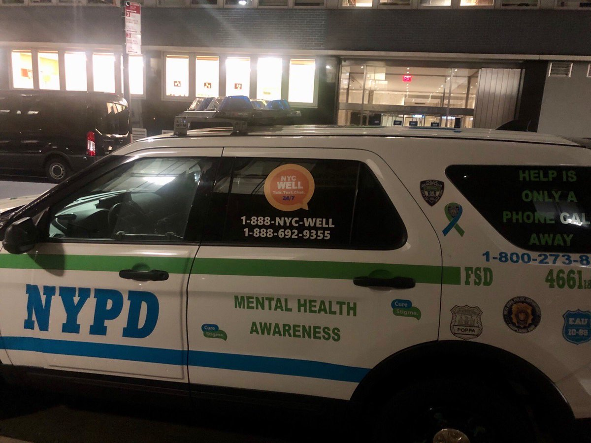 Actual NYPD squad car patrolling the city. https://t.co/m3NkXvA7mP