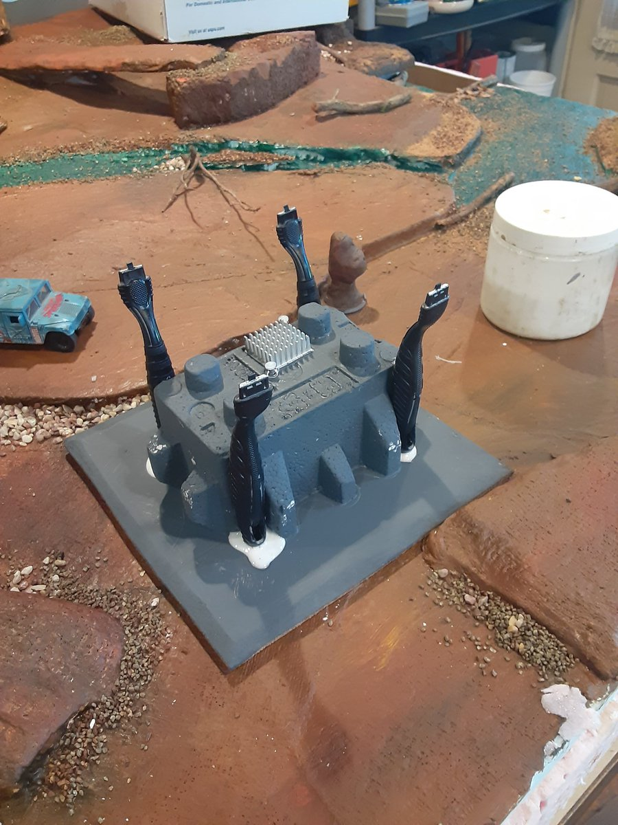 My latest terrain project #Wargaming #tabletopgaming https://t.co/TAuJCpoef1