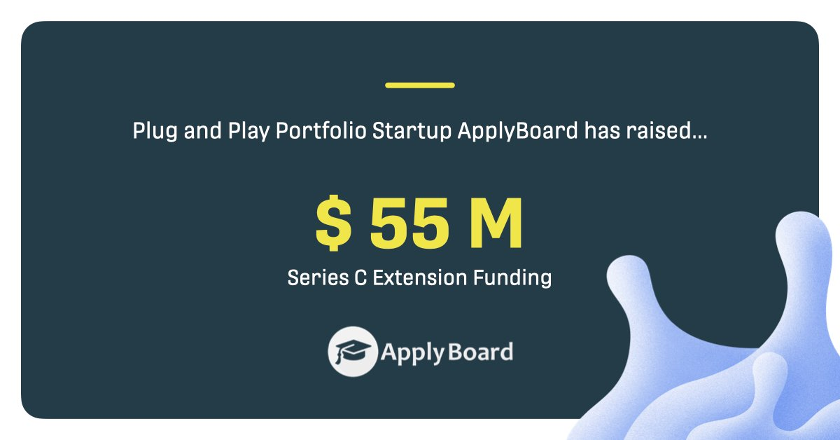 Congratulations to our #portfolio company @ApplyBoard for their recent #investment at a $1.4 billion valuation 🎉 They are the world's largest digital hub for international student recruitment. https://t.co/YlKSES3kV3 https://t.co/chjiOnt91i