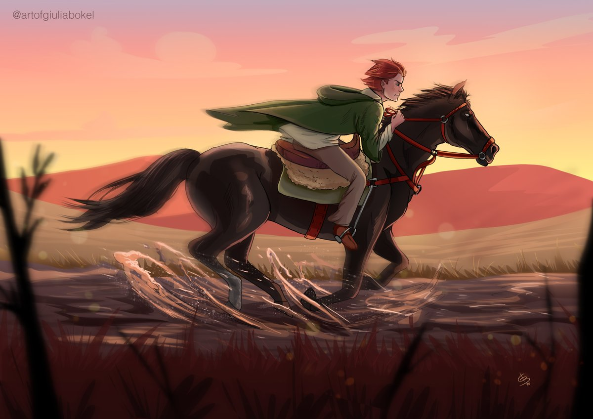 Another drawing for the podcast @os4cantos. It has been a while since I post a work for the podcast, but this one I really liked it! Kvothe with Keth-Selhan #nameofthewind #nomedovento #onomedovento #kvothe #kote #patrickrothfuss #kingkillerchronicles #art #fanart #digitalart https://t.co/oJWqKtov6O