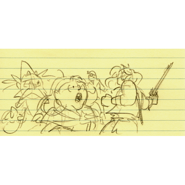 doodle20200922  #cartooning #drawing #pencil #VernorMagus #RussTheBarbarian https://t.co/HaDl9uc5LF