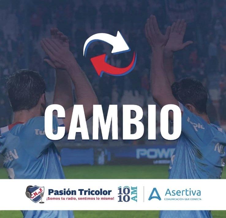 🔁⌚️79' | NAC 3-1 EST | Último cambió en el Decano.    Emiliano Martínez ↔️ Trasante                    #Libertadores | #DaleBolsoDale   📻 #LaRadioDelHincha ((1010AM)  📲 https://t.co/xyB95fxZP6 🇳🇱 https://t.co/ey0adk0iJ4