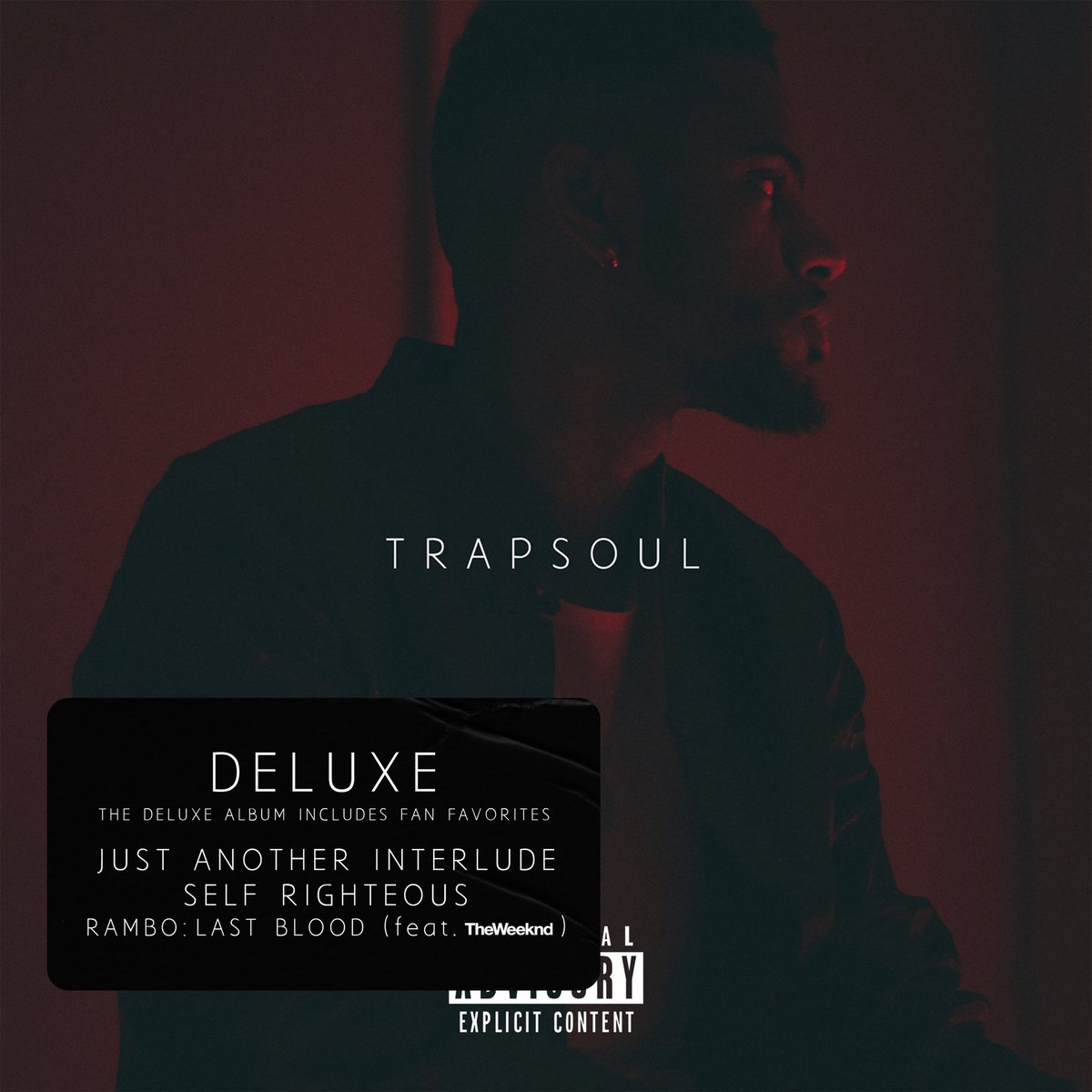 before we get into my new album, I wanna celebrate with this special edition of my debut album, Trapsoul. Featuring a few songs that didn't quite make the cut. Y'all asked for these on All Platforms and they'll finally be yours this Friday. thank you! https://t.co/8MJ5rC5jYB