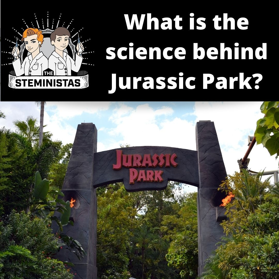 🦖 Jurassic Park delves into a lot of science - but is it correct? Can you make dinosaurs from frog DNA? Are velociraptors really velociraptors? Check our our latest #steministas podcast!