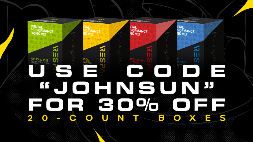 Johnsun - The only thing we trust that is not a cake is the @RESPAWNbyRazer Mental Performance Drink. Test it for yourself with this special 30% off deal!  Promo Code - JOHNSUN