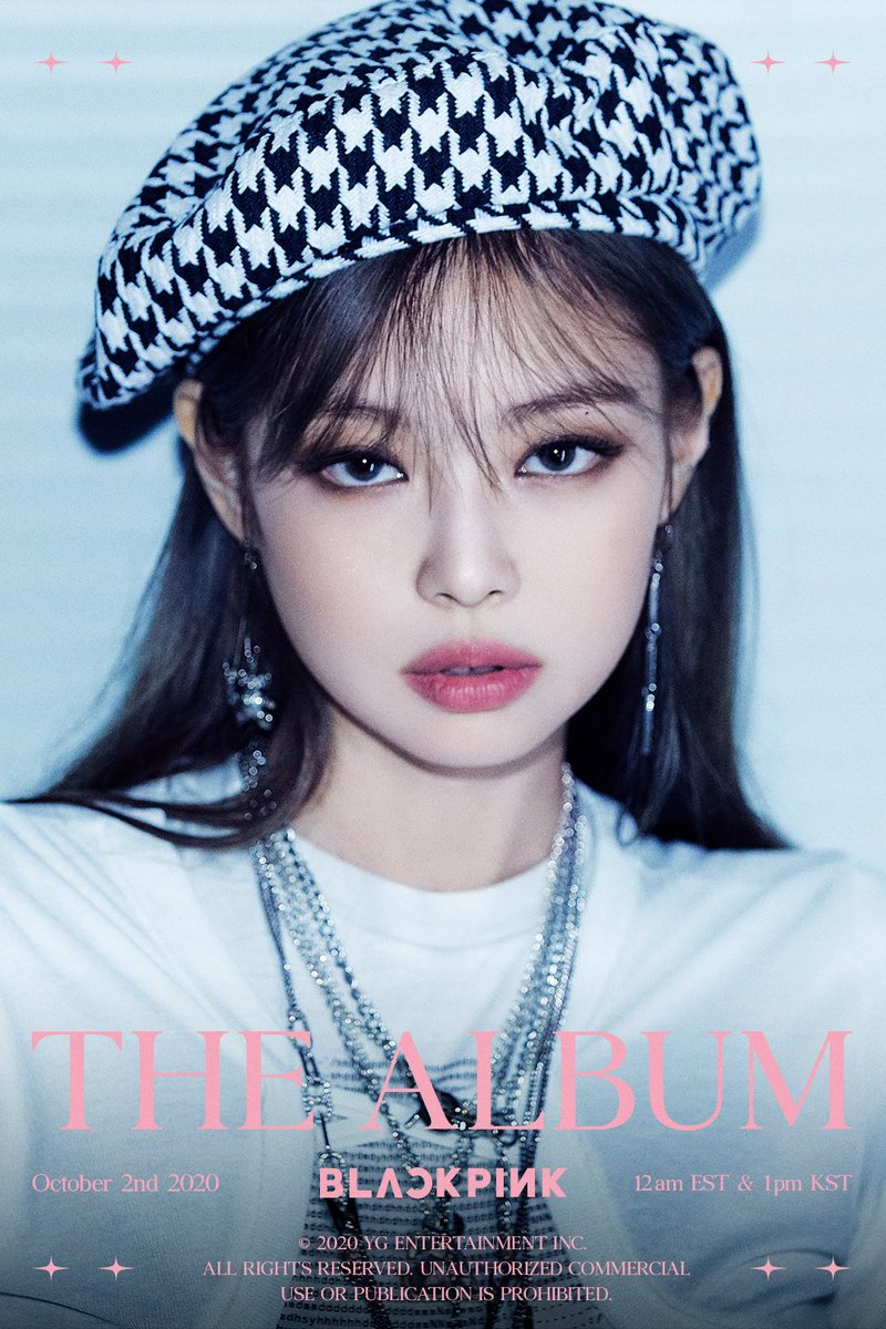 'THE ALBUM' JENNIE TEASER POSTER #1  #BLACKPINK  #블랙핑크  #JENNIE  #제니  #1stFULLALBUM #THEALBUM #TeaserPoster #20201002_12amEST #20201002_1pmKST #Release #YG https://t.co/GJcbg0Iz1o