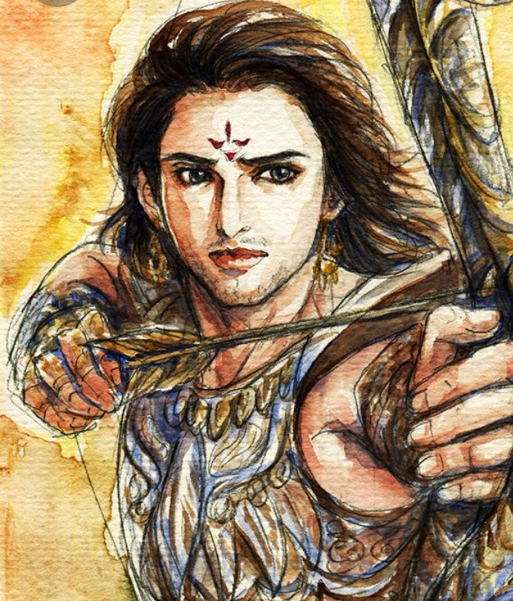 #Small_Thread #Karna  #Mahabharata   Today We will look briefly into Mahabharata and try to verify the claims that Drona discriminated with Karna due to his caste.  Do Follow and Share this thread as this will bust the myths propagated to malign the 5600 BCE India.