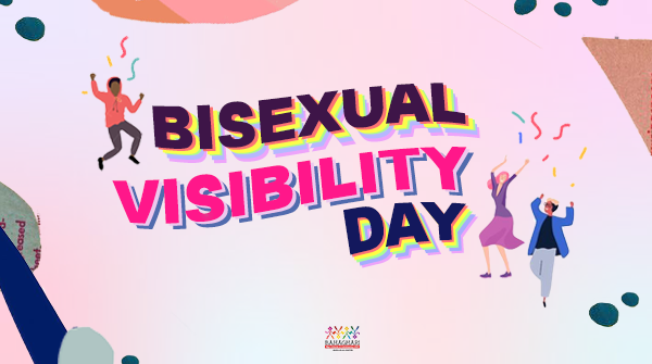 IT'S BISEXUAL VISIBILITY DAY!   To all our bisexual bhies out there, know that your sexuality is valid. You are seen, heard, and loved. We are one with your fight against biphobia, harmful gendered assumptions, negative stereotypes, and erasure. (1/2) https://t.co/v1UBHAmDVe