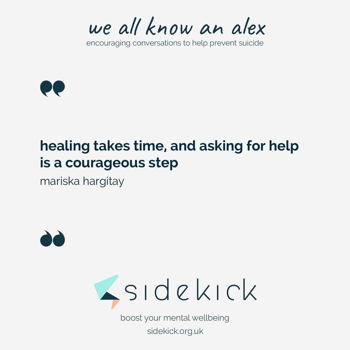 it's never too late to ask for help. healing words by @Mariska  #SuicidePreventionMonth#suicideawareness#depressionawareness#depressionhelp#anxietyawareness#endthestigma#yourenotalone#mentalhealthawareness#WeAllKnowAnAlex #mentalwellbeing #MentalHealthMatters https://t.co/DaTgdhxJsC