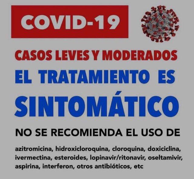 De parte de la Sociedad Venezolana de Infectología👇🏻👇🏻 #COVID__19 #tratamiento https://t.co/n8rbDMpSFT