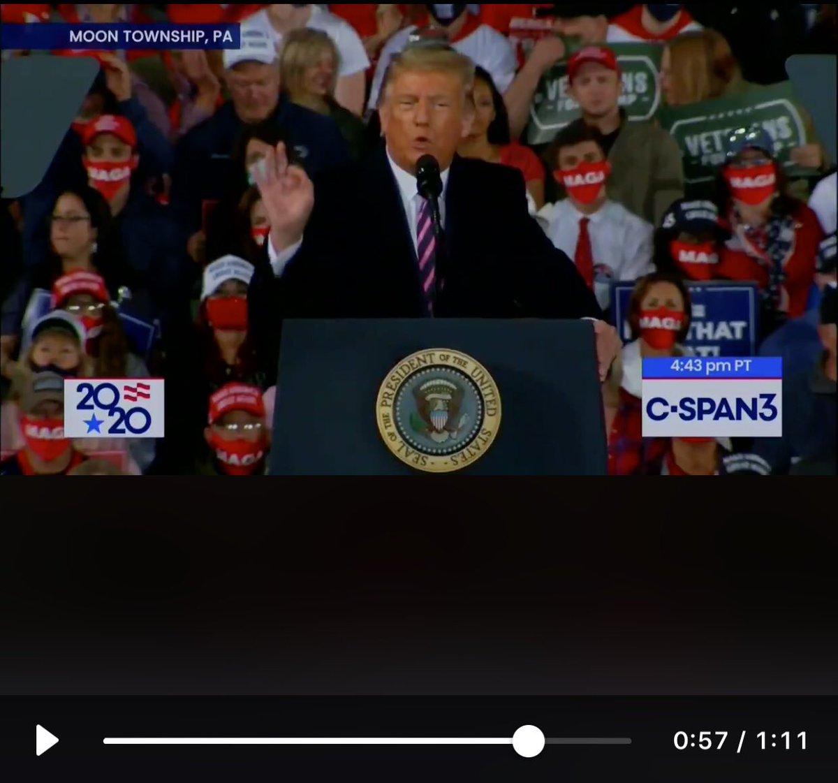@atrupar #whitepower hand sign at 57 sec ... So: whaddya mean @realDonaldTrump ? https://t.co/NHvUfvG0Q2